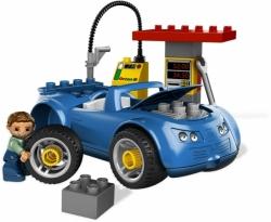 LEGO 5640 DUPLO AUTO BENZÍNOVÁ STANICE