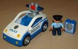 LEGO DUPLO 4963 POLICIE - POLICEJNÍ HLÍDKA AUTO