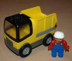 LEGO DUPLO NÁKLADNÍ AUTO SKLOPKA