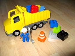 LEGO DUPLO 5651 NÁKLADNÍ AUTO SKLOPKA