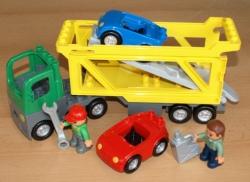 LEGO DUPLO 5684 NÁKLADNÍ AUTO PŘEPRAVA AUTOMOBILŮ