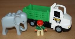 LEGO DUPLO 6172 ZOO NÁKLADNÍ AUTO SLON