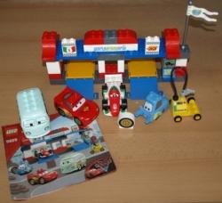 LEGO 5829 DUPLO AUTO CARS ZASTÁVKA V DEPU