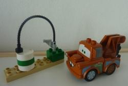 LEGO 5814 DUPLO AUTO CARS BURÁK Z VRAKOVIŠTĚ