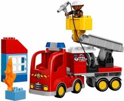 LEGO DUPLO 10592 HASIČSKÉ AUTO HASIČI