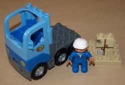 LEGO DUPLO 5609 POŠTOVNÍ NÁKLADNÍ AUTO PALETA