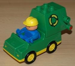 LEGO DUPLO POPELÁŘSKÉ AUTO