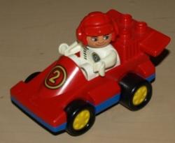 LEGO DUPLO AUTO FORMULE 1