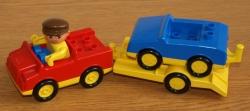 LEGO DUPLO AUTO S PŘÍVĚSEM