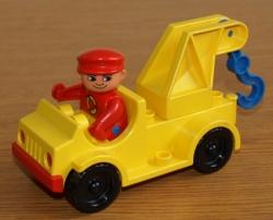 LEGO DUPLO VYPROŠŤOVACÍ AUTO