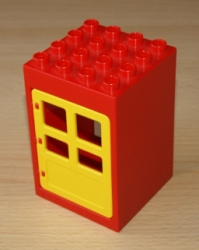 LEGO DUPLO DŮM DOMEK DOMEČEK DVEŘE