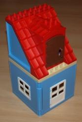 LEGO 3772 DUPLO DOMEK DŮM DOMEČEK STŘECHA DVEŘE OKNO