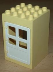 LEGO DUPLO DŮM DOMEČEK DVEŘE