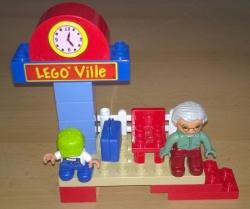 LEGO DUPLO 5608 MALÉ OSOBNÍ NÁDRAŽÍ STANICE