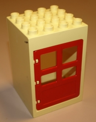 LEGO DUPLO DŮM DOMEK BOŘEK STAVITEL DVEŘE