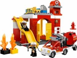 LEGO DUPLO 6168 HASIČI HASIČSKÁ STANICE