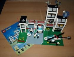 LEGO CITY 6398 - POLICIE POLICEJNÍ STANICE AUTO HELIKOPTÉRA