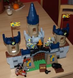 LEGO 4864 DUPLO VELKÝ HRAD RYTÍŘI