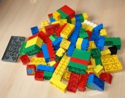 LEGO DUPLO KOSTKY SMĚS 1 KG
