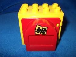 LEGO DUPLO DŮM DOMEK OKNO NÁDRAŽÍ