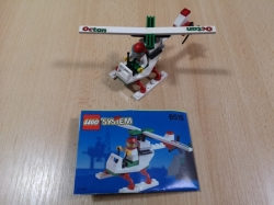 LEGO 6515 CITY STUNT COPTER 1994