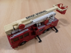 MATCHBOX SUPER KINGS K-39 SNORKEL FIRE ENGINE 1979