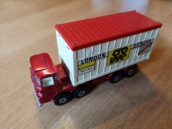 MATCHBOX SUPER KINGS SCAMMELL CONTAINER TRUCK K-24 1976