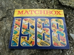 MATCHBOX 1968 COLLECTORS CATALOGUE KATALOG PRICE 3d