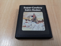 SUPER COWBOY BEIM RODEO HRA CARTRIDGE ATARI 2600 HERNÍ KONZOLE