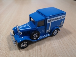 MATCHBOX MODELS OF YESTERYEAR 1930 MODEL A FORD VAN THE WASHINGTON POST POWER OF THE PRESS