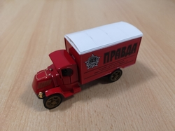 MATCHBOX MODELS OF YESTERYEAR 1920 MACK AC PRAVDA POWER OF THE PRESS