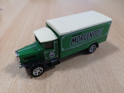 MATCHBOX MODELS OF YESTERYEAR 1932 MERCEDES BENZ L5 BERLINER MORGENPOST