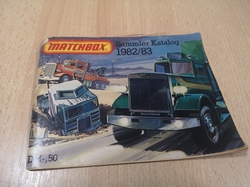 MATCHBOX 1982/83 COLLECTORS CATALOGUE SAMMLER KATALOG