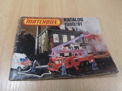 MATCHBOX 1980/81 COLLECTORS CATALOGUE KATALOG