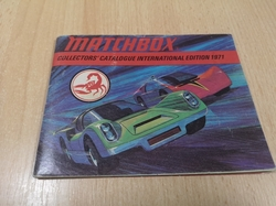MATCHBOX 1971 COLLECTORS CATALOGUE KATALOG