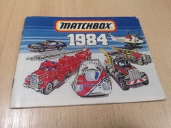MATCHBOX 1984 COLLECTORS CATALOGUE KATALOG