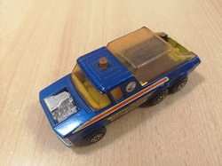 MATCHBOX SUPER KINGS K-6 PICK-UP TRUCK MOTORCYCLE TRANSPORTER 1976 ENGLAND