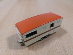 MATCHBOX TRAILER CARAVAN ECCLES No 57 1970 ENGLAND - kopie