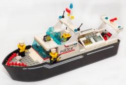 LEGO CITY 4021 - POLICIE POLICEJNÍ HLÍDKOVÁ LOĎ ČLUN