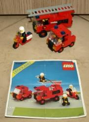 LEGO 6366 LEGOLAND HASIČI HASIČKÉ A ZÁCHRANNÉ DRUŽSTVO
