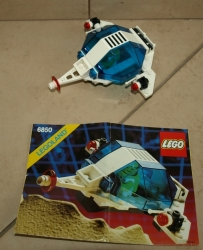LEGO 6850 LEGOLAND SPACE M-TRON AUXILIARY PATROLLER