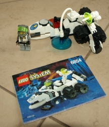 LEGO 6854 SYSTEM SPACE ALIEN FOSSILIZER