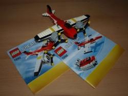 LEGO 7292 CREATOR LETADLO VRTULOVÉ DOBRODRUŽSTVÍ