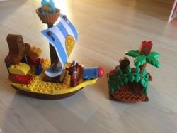 LEGO DUPLO 10514 PIRÁT JAKE PIRÁTSKÁ LOĎ BUCKY