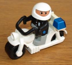 LEGO DUPLO POLICIE MOTOCYKL MOTORKA