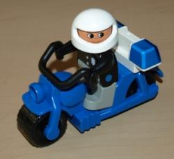 LEGO DUPLO POLICEJNÍ MOTOCYKL MOTORKA
