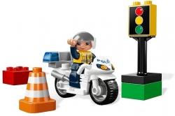 LEGO DUPLO 5679 POLICIE POLICEJNÍ MOTORKA MOTOCYKL
