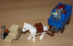 LEGO 4862 DUPLO HRAD RYTÍŘI PŘEPADENÍ