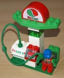 LEGO DUPLO 3325 TANKOVACÍ STANICE PHM