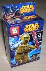 STAR WARS FIGURKY ROBOT C3PO a DROID